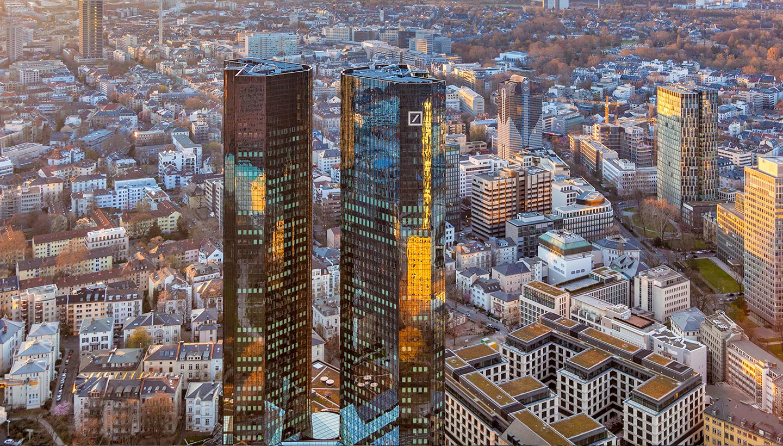 Edifício da Deutsche Bank AG, Frankfurt, Alemanha