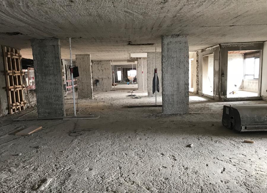Reforço de Lajes no Edifício Cascais Atrium