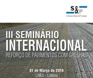 Seminário Internacional - reforço de pavimentos com grelhas
