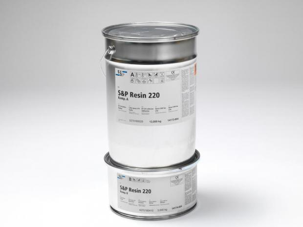 S&P Resin 220 HP - Adesivo Epoxy