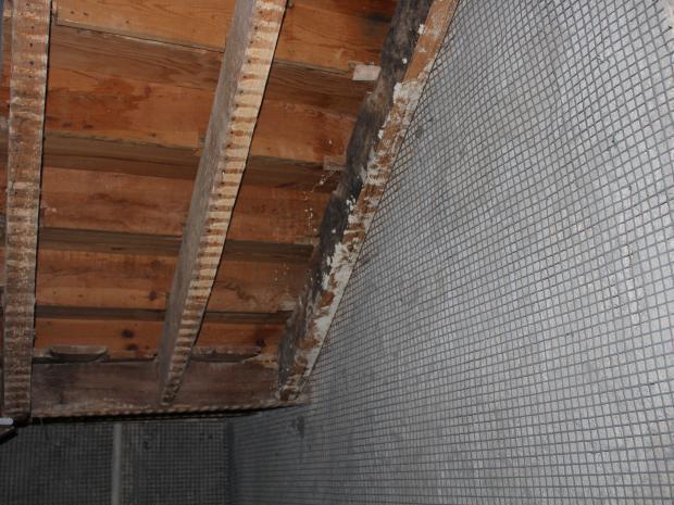Aplicação  de ARMO-mesh® em fosso de escada e elevador