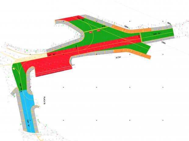 Detalhe do plano de desenvolvimento